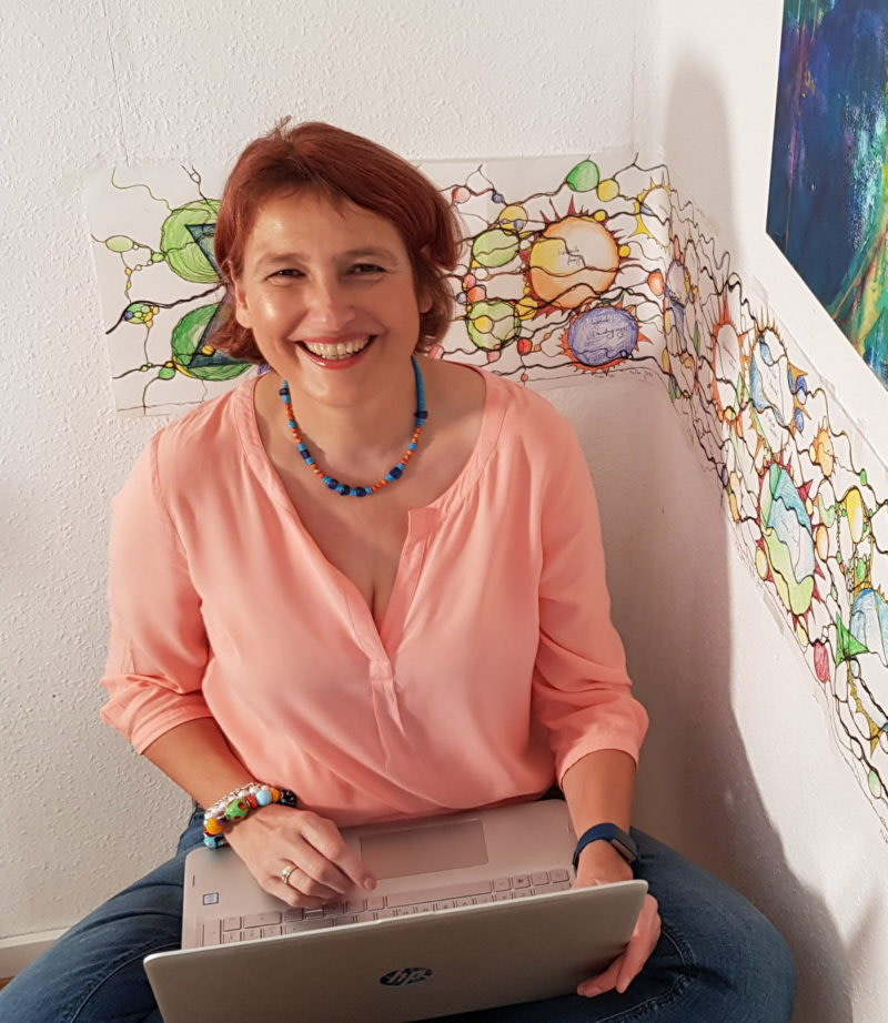 Doris Bürge Coaching Du selbst wer sonst sitzt an ihrem Computer und vereinbart einen Termin