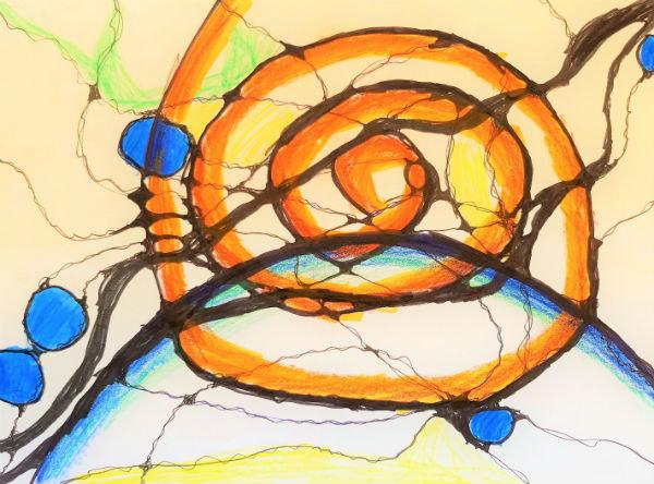 Wut mit Neurographik zeichnerisch auflösen